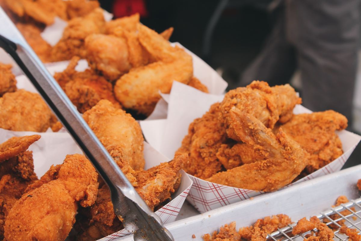 Avoid fried foods.