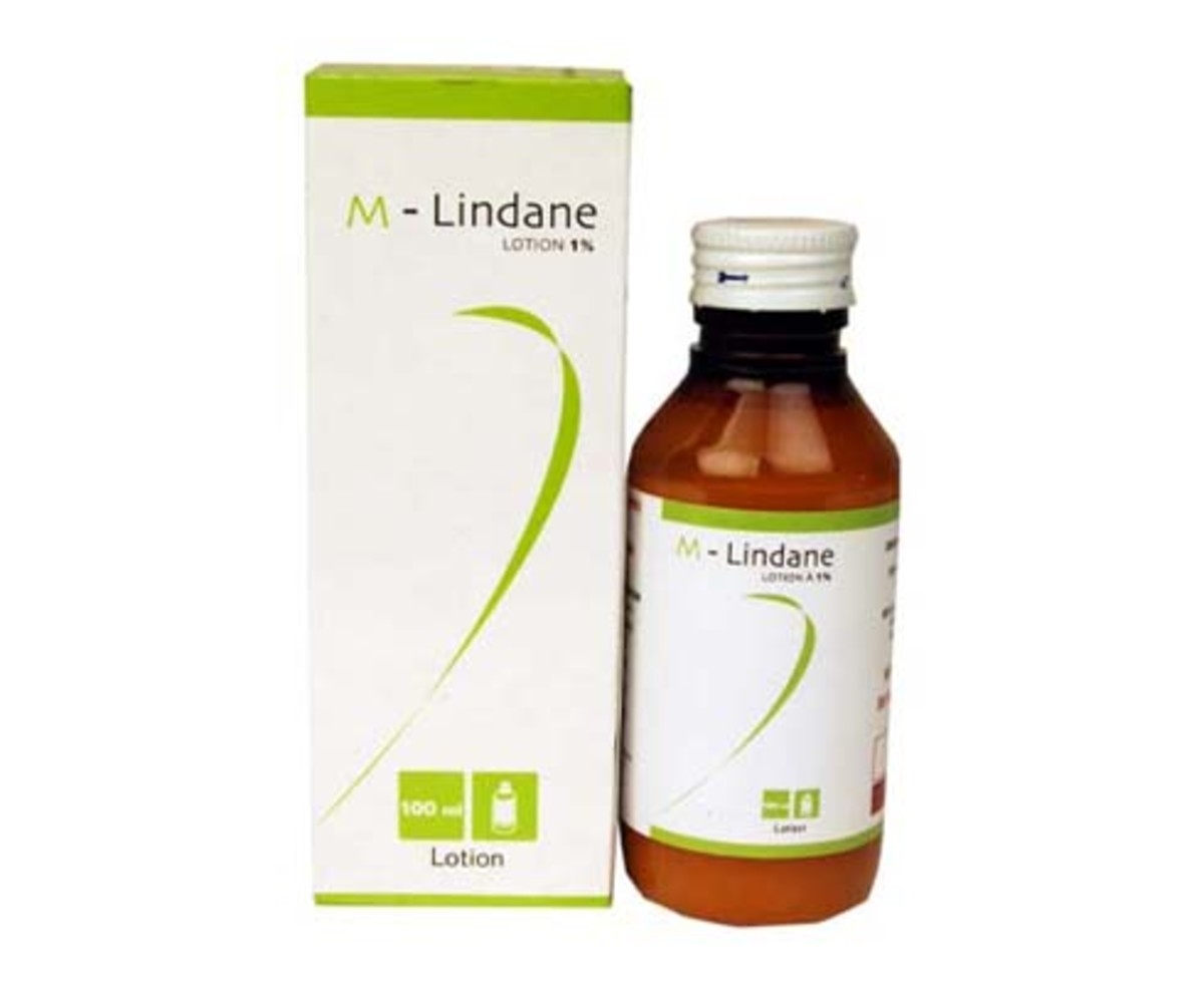 Lindane is a chemical variant and treatment for lice and scabies.