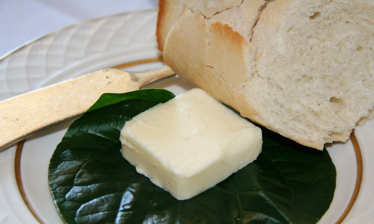 Butyrum is the Latin word for butter and gave rise to the term butyric acid.