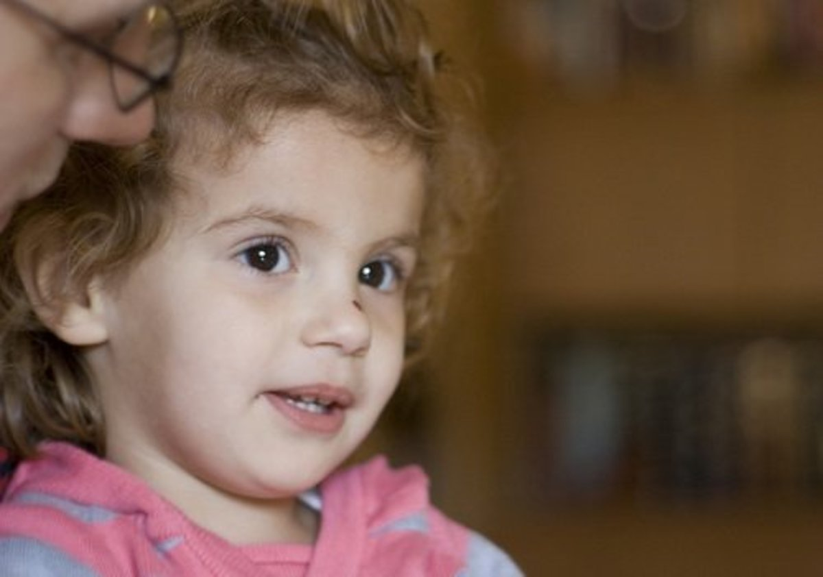 Improving communication may decrease crying and tantrums