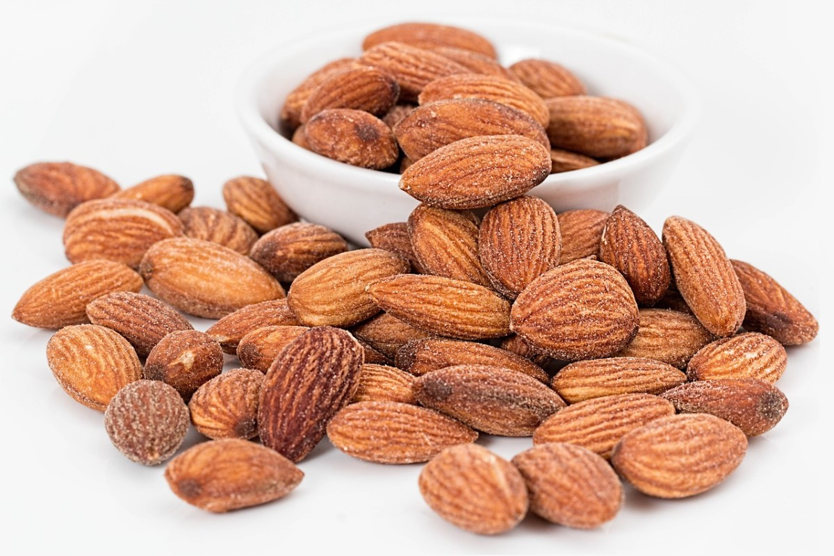 Almonds are a great source of calcium and a protein.