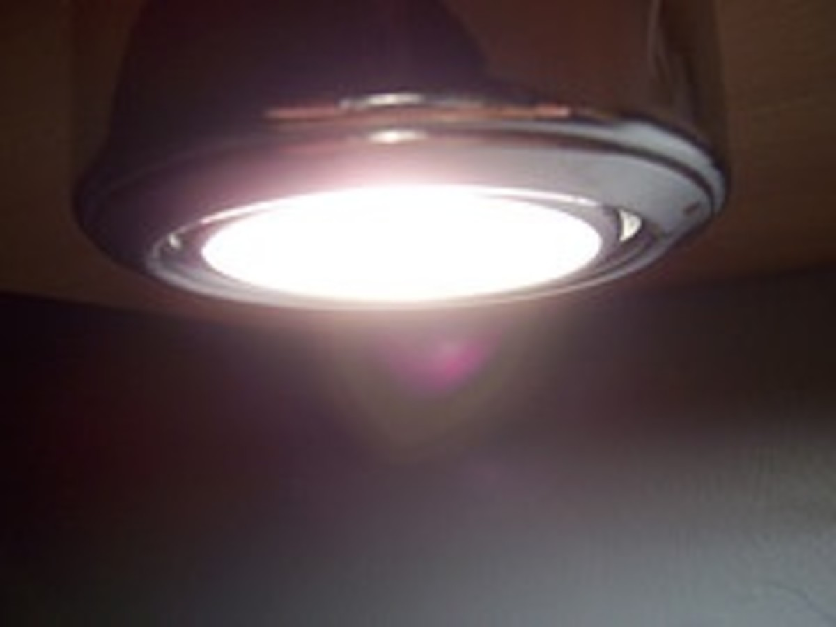 An individual may be able to tolerate lights at work but not at home.