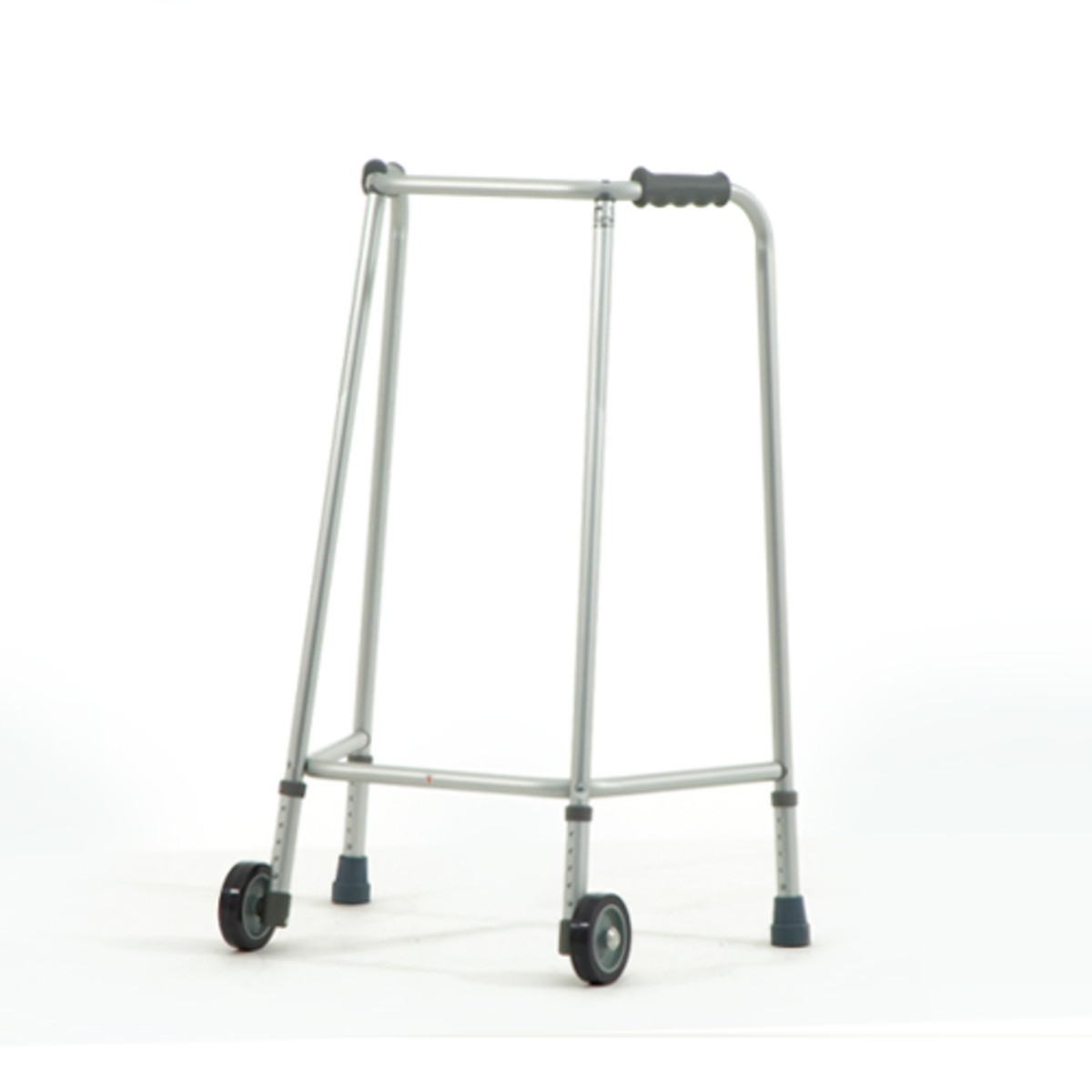 a walking frame with wheels- it's best to get a professional to assess you for this kind of equipment