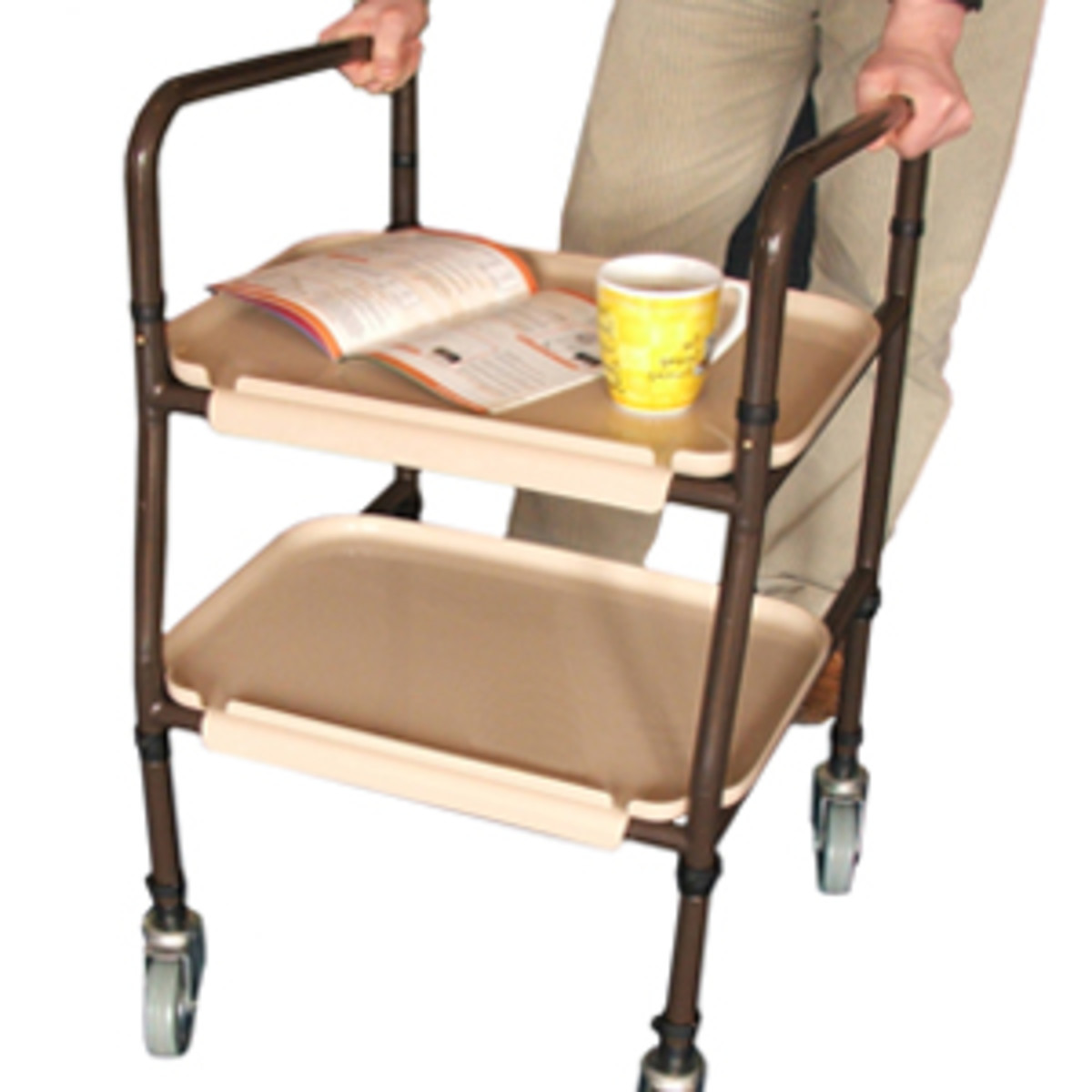 a kitchen trolley in action