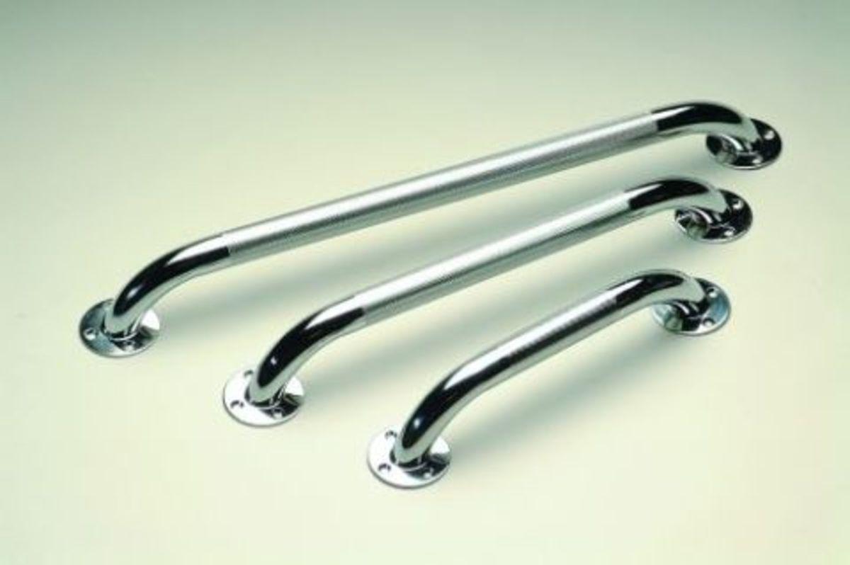 typical grab rails