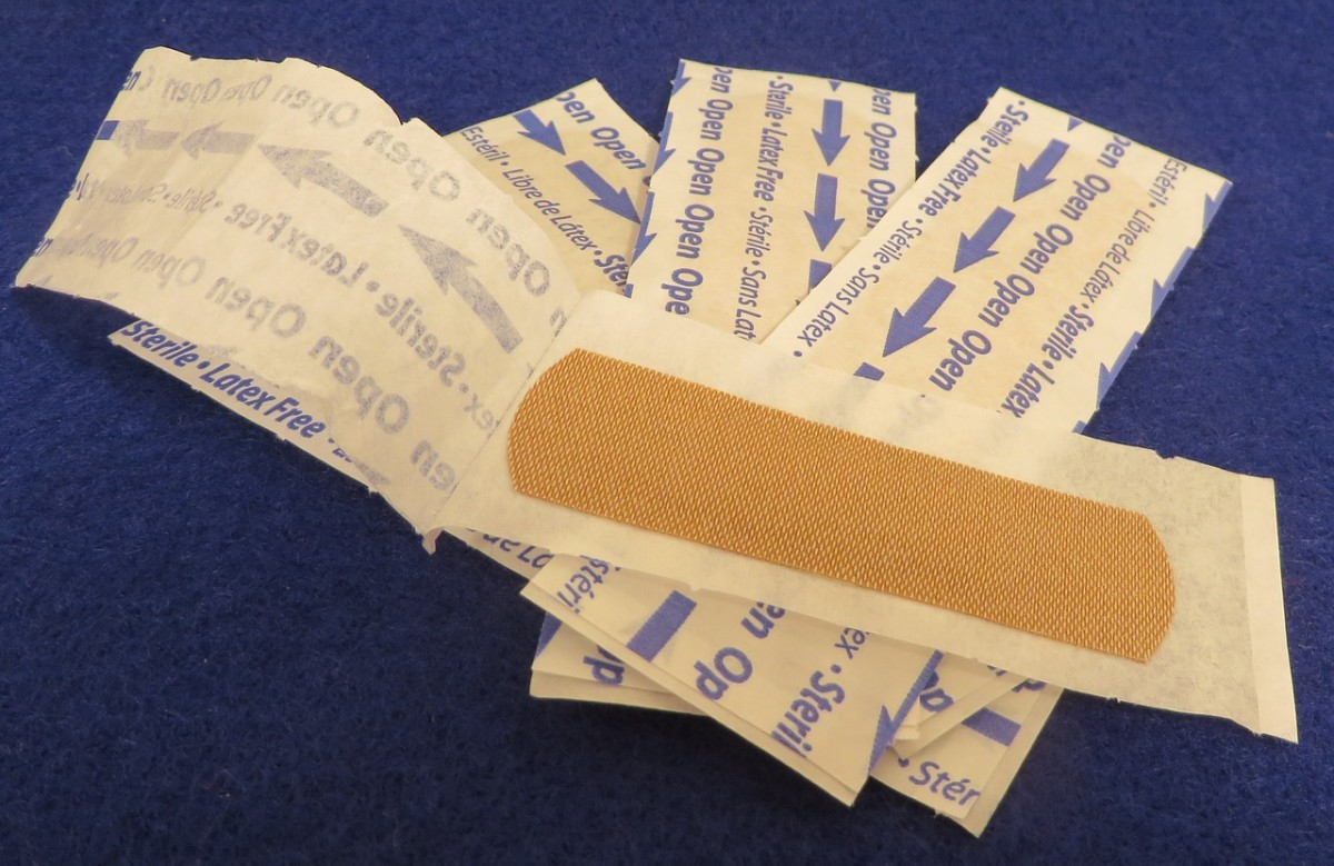 Band-aids can work well for minor wounds, but sometimes more help is needed.