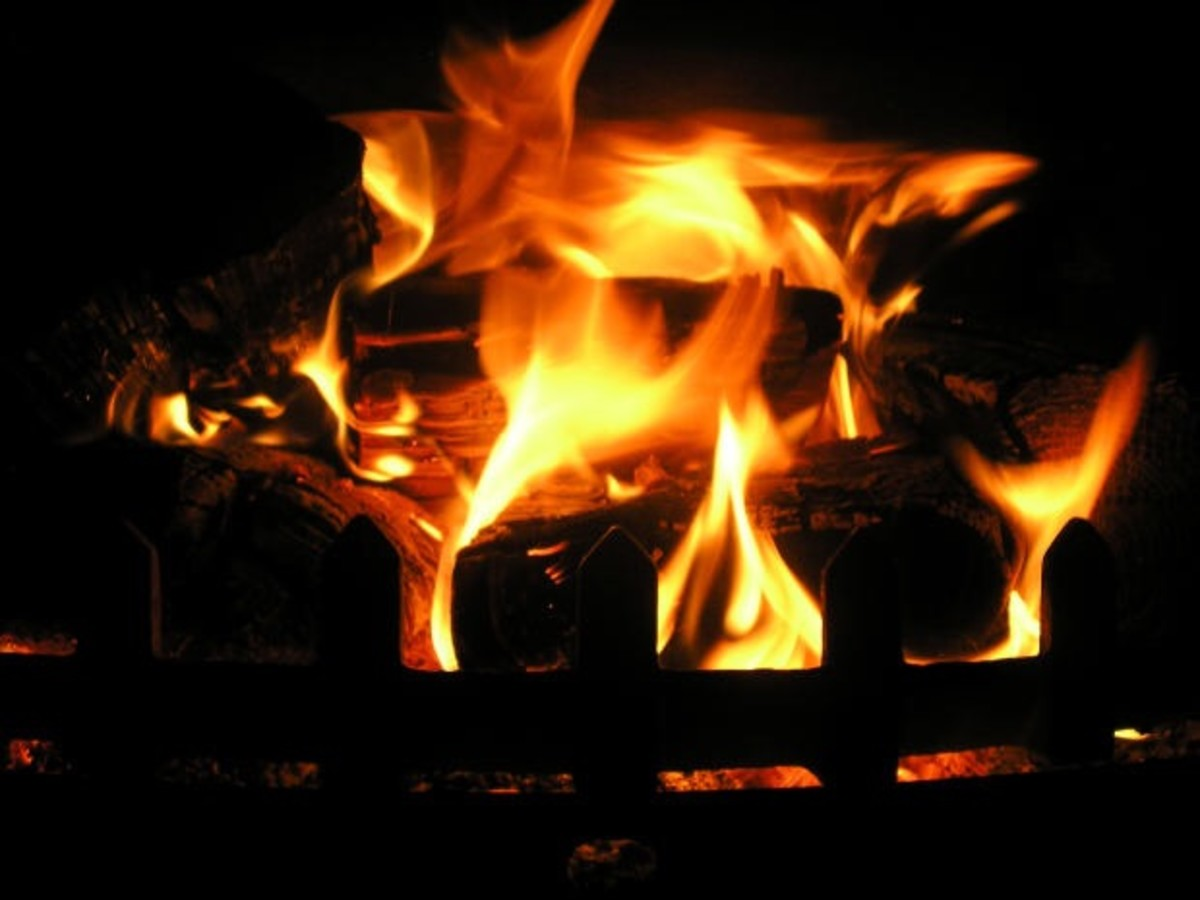 Don't warm a chilled body part in front of a fire if you have a tendency to develop chilbains.