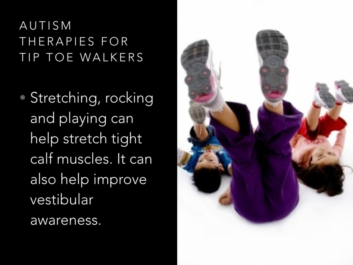 Autism Therapy for Tip Toe Walkers