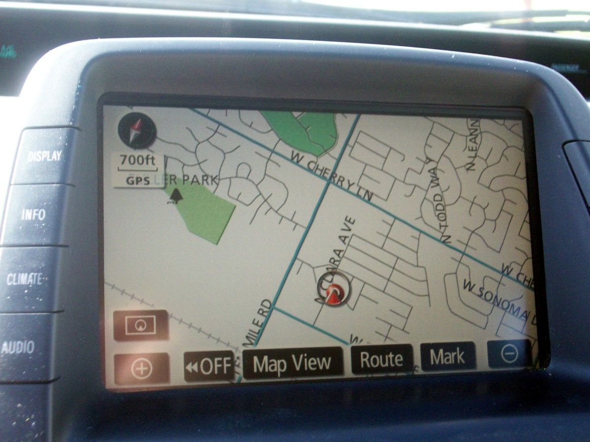 Be able to not only drive but read the GPS on your dash without putting on glasses to do so.