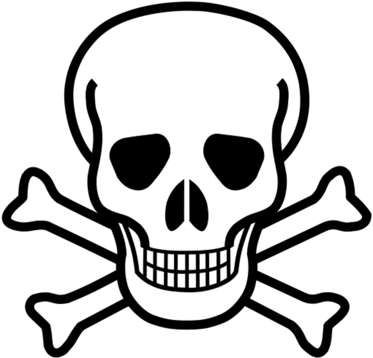 When you see the symbol of the skull and crossbones on a product label, it signifies that the chemicals in this product are potentially harmful.