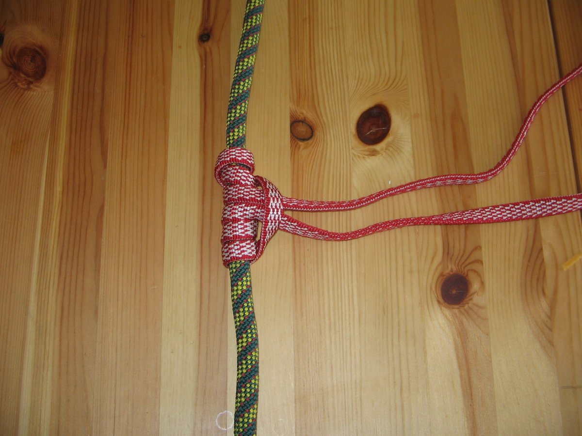 A sample of a Prusick loop