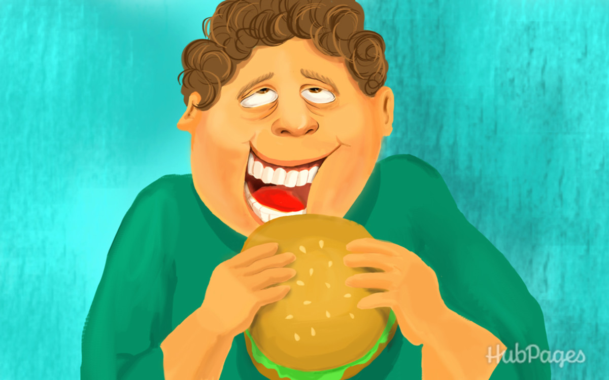 Overindulging in anything (food, substance, etc.) may be an unhealthy and temporary fix.