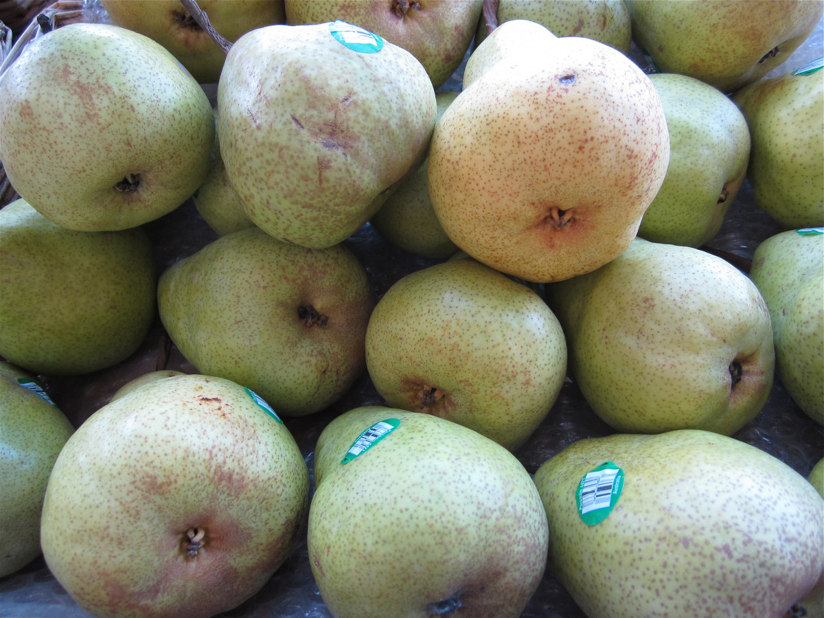 Pears are often good for a GERD diet.
