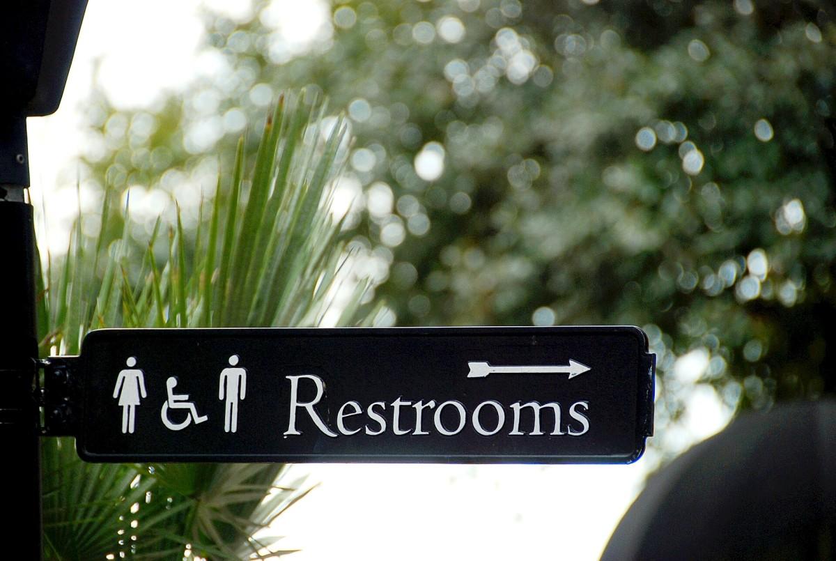 Public washrooms often contain potentially dangerous bacteria.