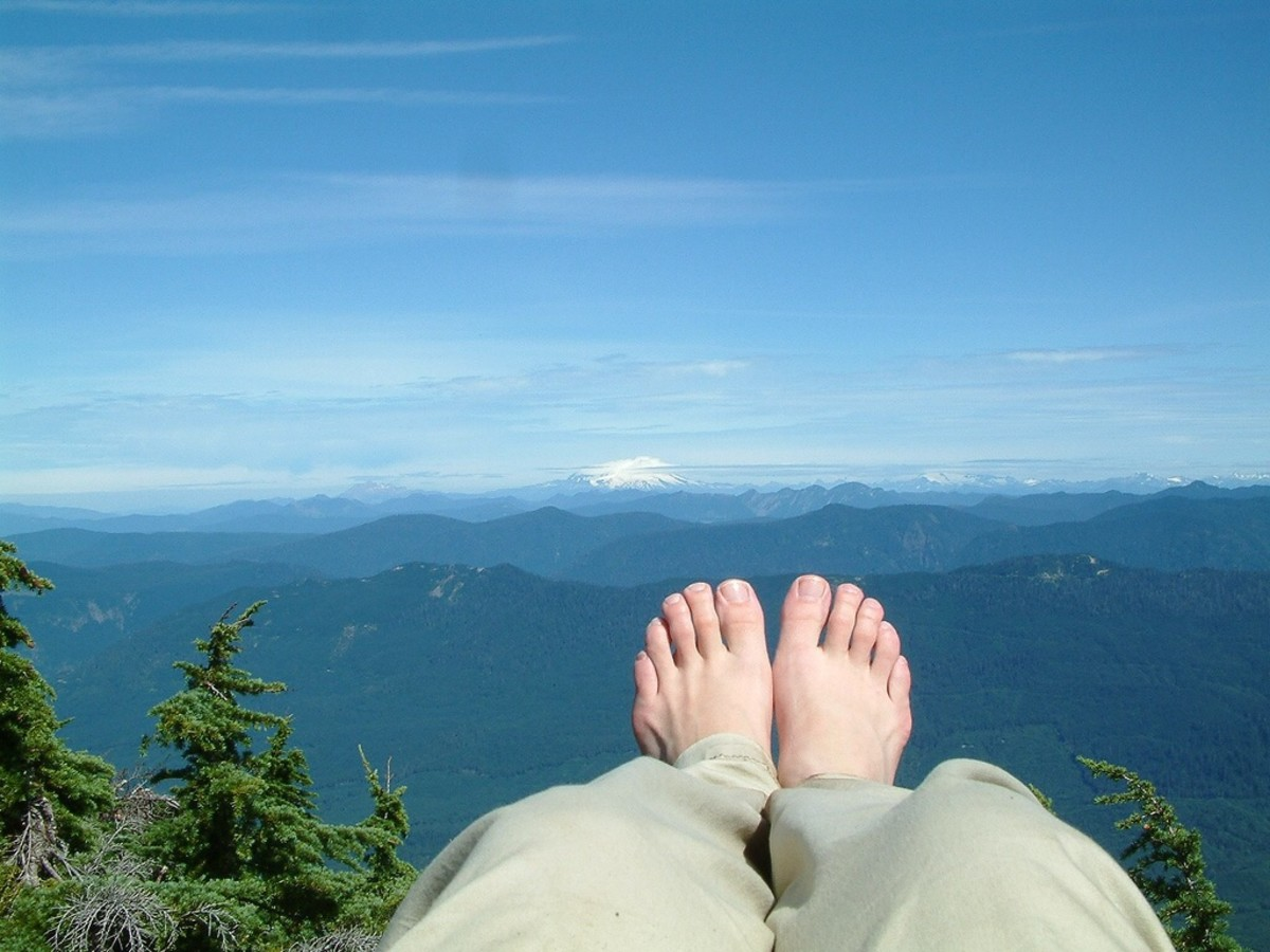 A bone spur in a foot may make exercise such as hiking painful.