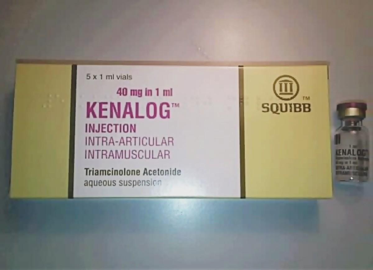 Kenalog injection