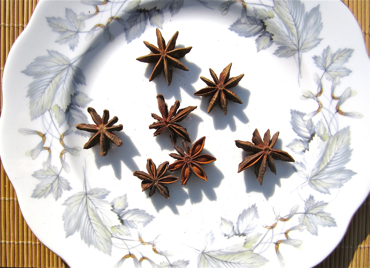 Spices such as star anise can be used instead of sugar and salt to flavor food. This can help to reduce hypertension.
