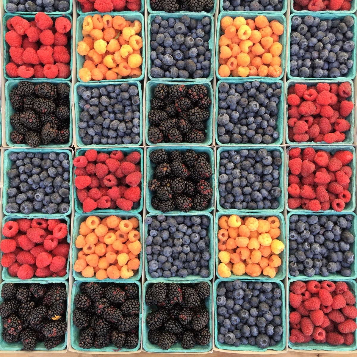 Unsweetened berries are a great component of a healthy diet.
