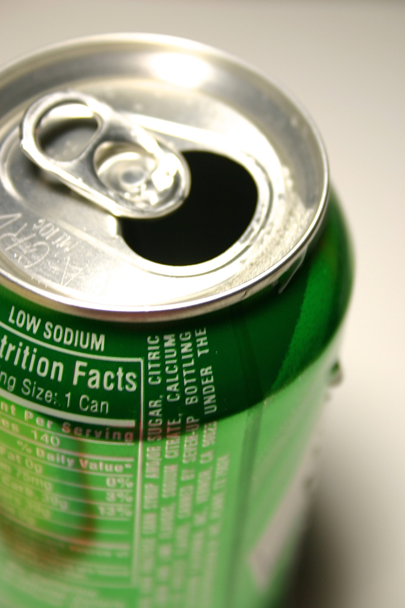 Check the ingredients of your soft drink to see if it contains brominated vegetable oil.