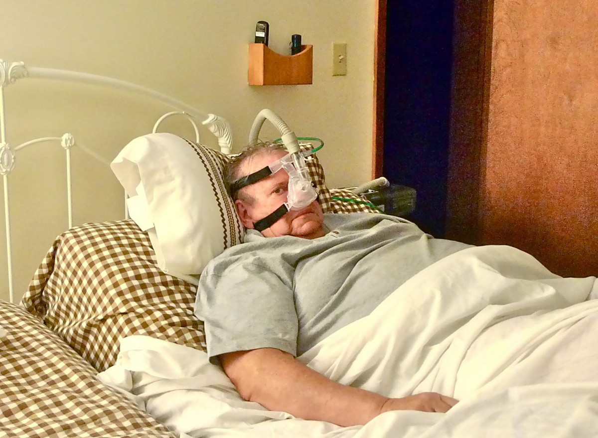 The CPAP can help you sleep better.
