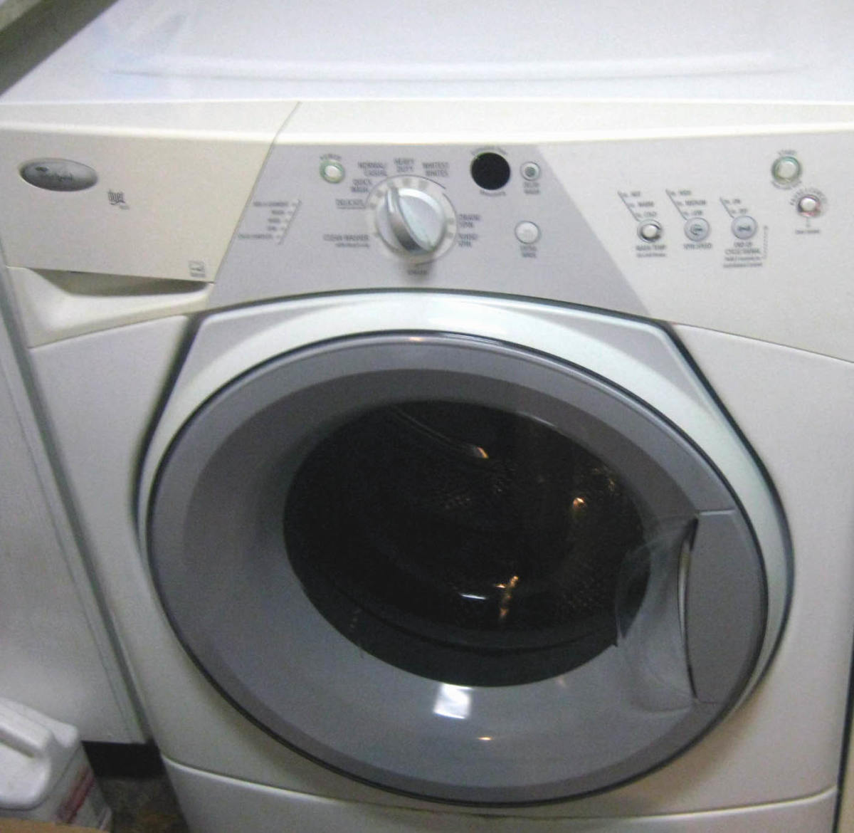 Use hot water and bleach for a sick person's laundry.