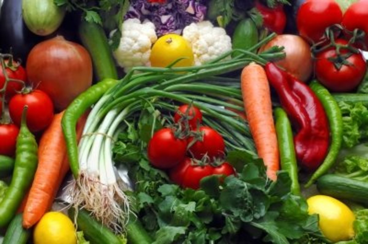 Vegetables are perfect for better health