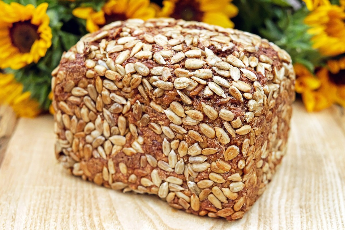 Foods rich in fibre, such as breads made from whole grains, have been linked to weight loss.