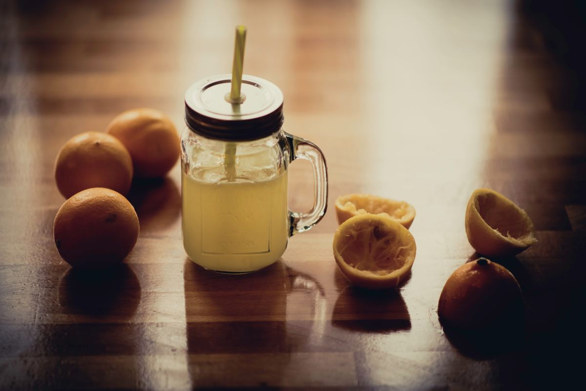 The fructose, glucose, and sucrose in oranges helps bump up low blood sugar, a side effect of excessive drinking.