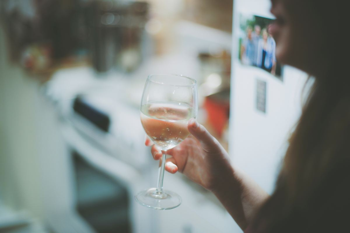 Alcohol blocks vasopressin production which leads to severe dehydration.