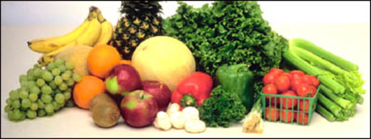 Fruits and vegetables for a healthy liver