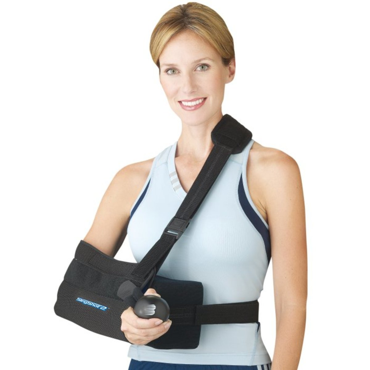 Your sling will look something like this.