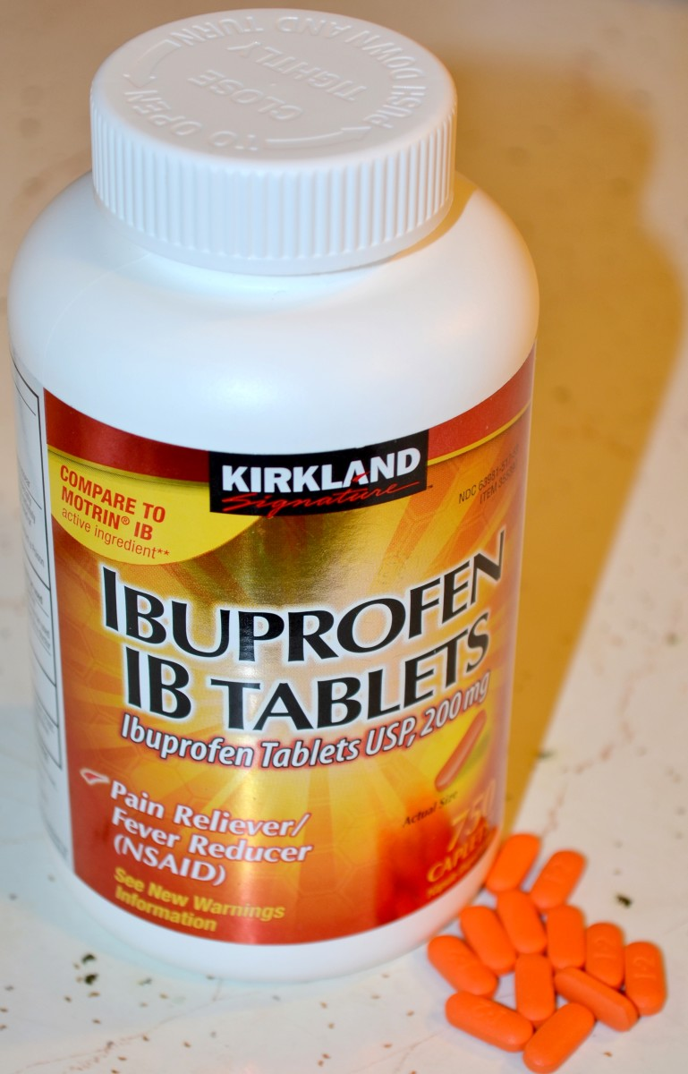 Ibuprofen, like may over-the-counter medications can interact with prescriptions and cause dangerous side effects.