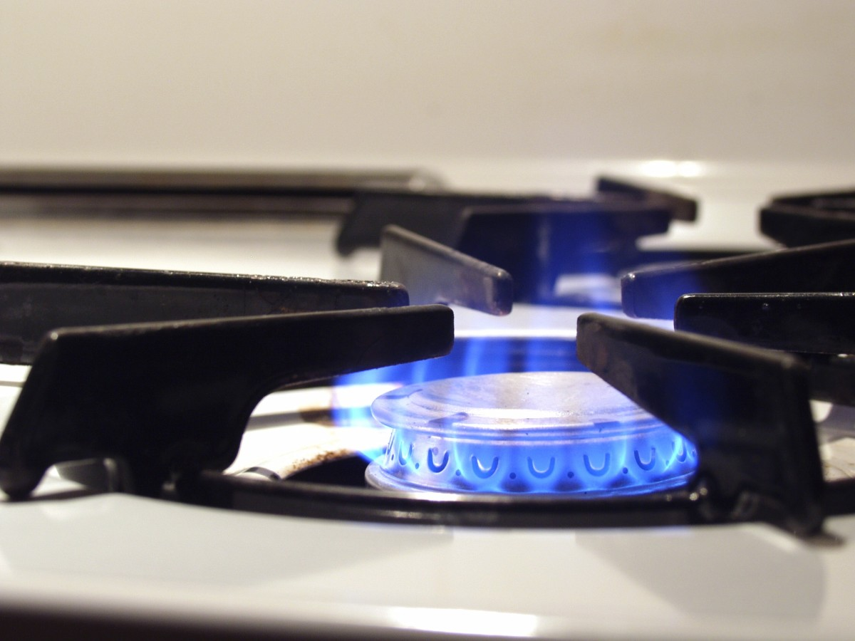 Gas stoves may produce carbon monoxide.