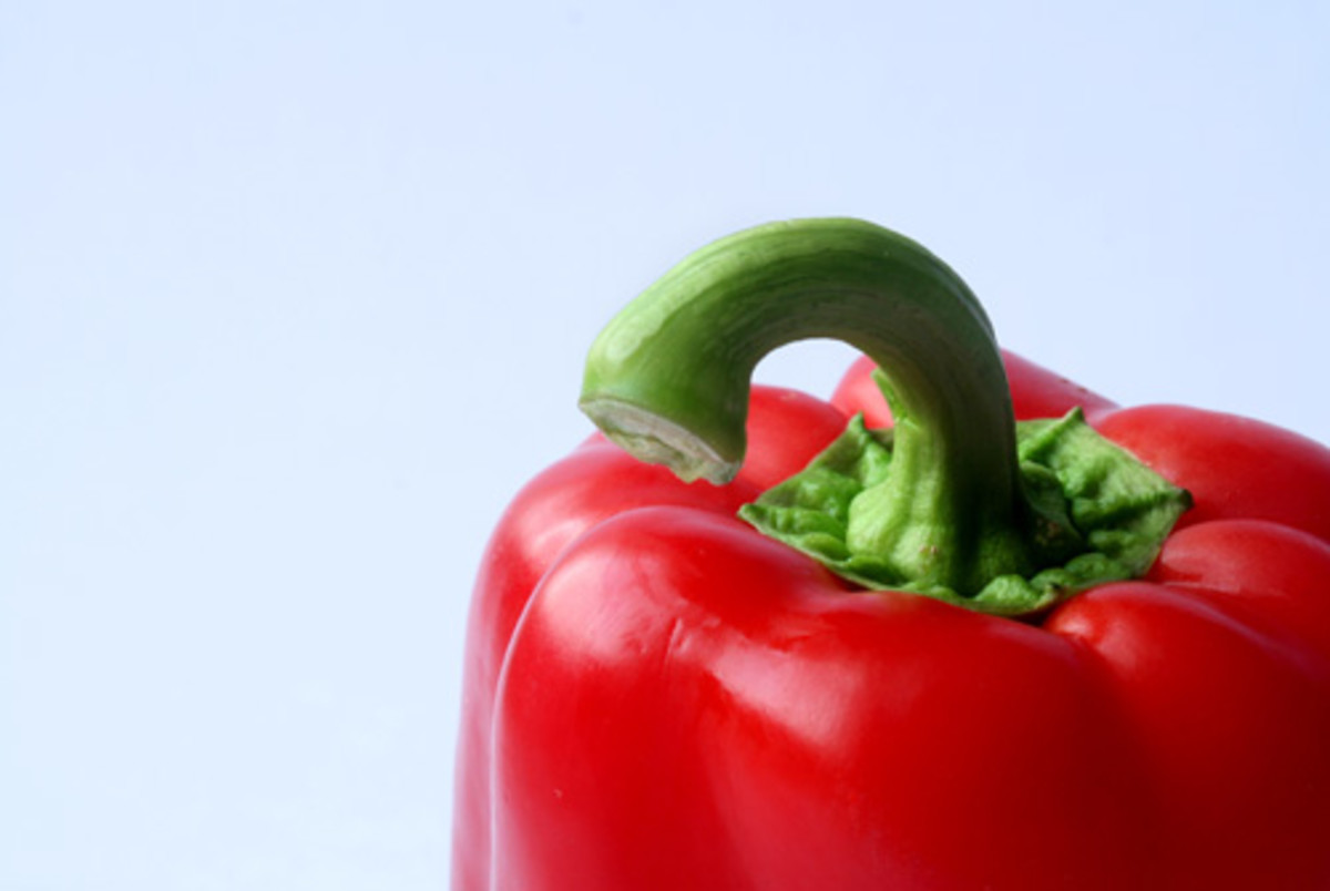 Little pieces of red pepper can show up in your BM.