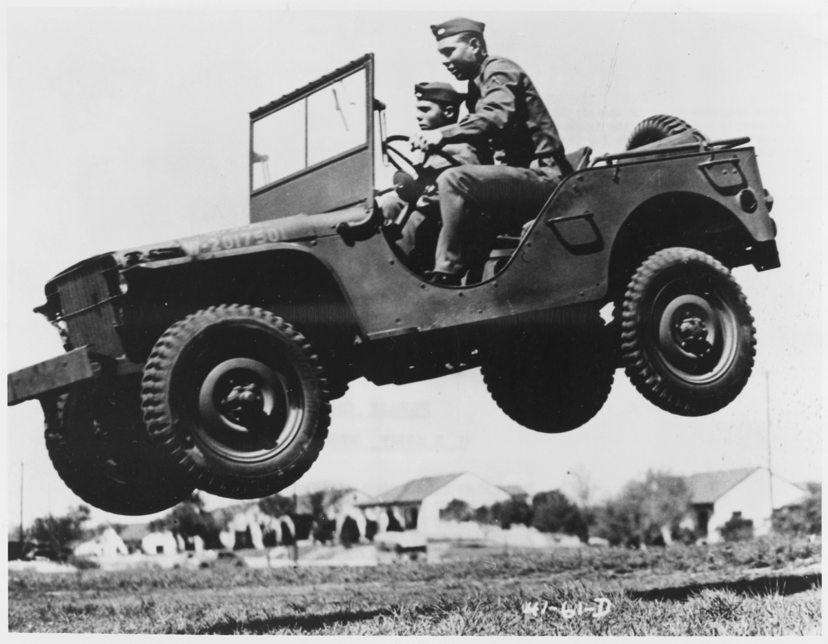 Many WWII soldiers developed pilonidal cysts from enduring long, bumpy rides on uncomfortable jeep seats.