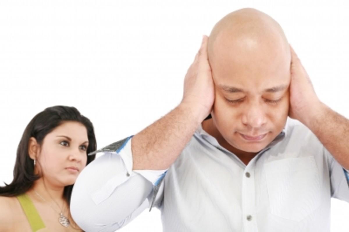 Standing near loud speakers in a nightclub can cause Tinnitus.