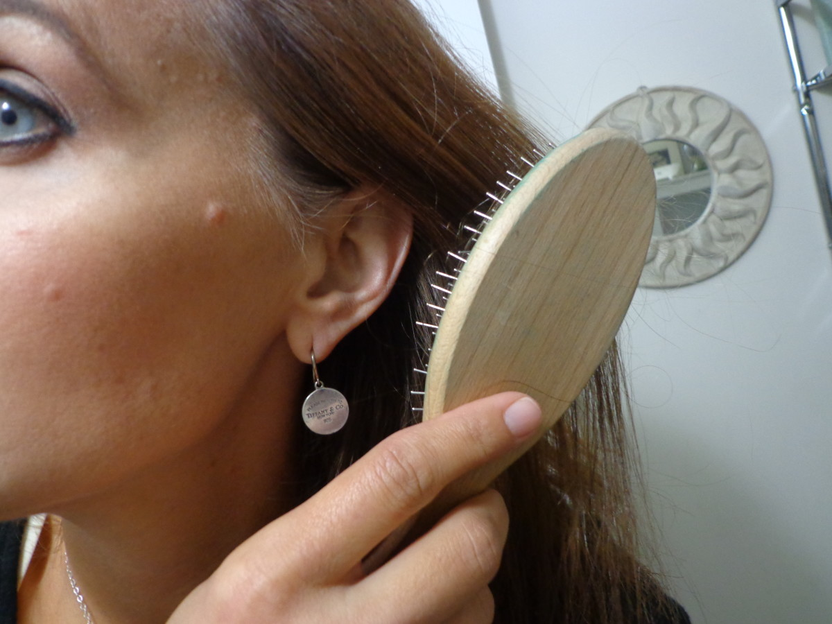 Treat your hair as gently as possible during periods of hair loss.