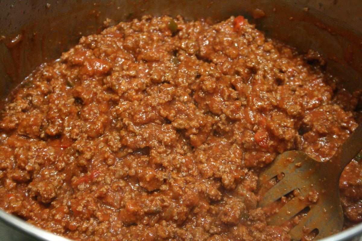 Sloppy Joe meat, without the bun, is a tasty meal. Try chewing with your front teeth (or on the side that was not operated on) and mush the meat with your saliva before swallowing.