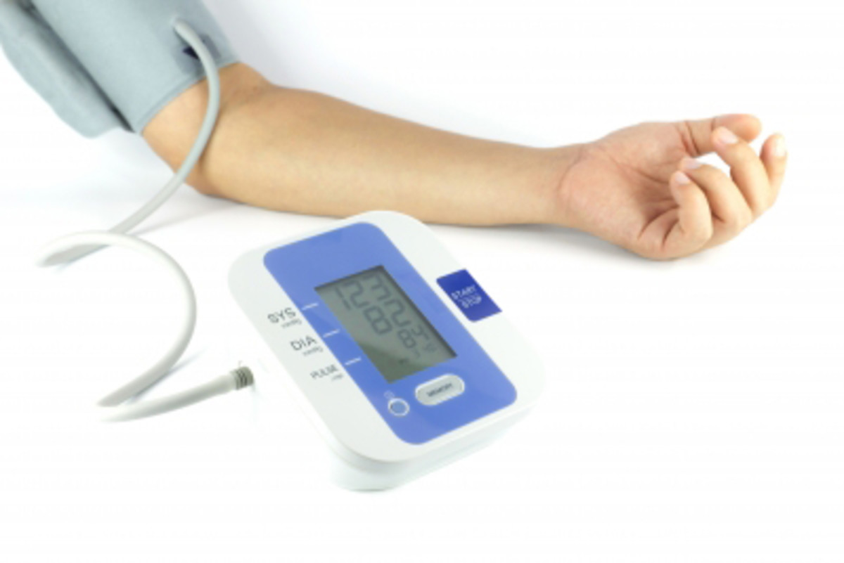 Controlling blood pressure is important in preventing a number of diseases