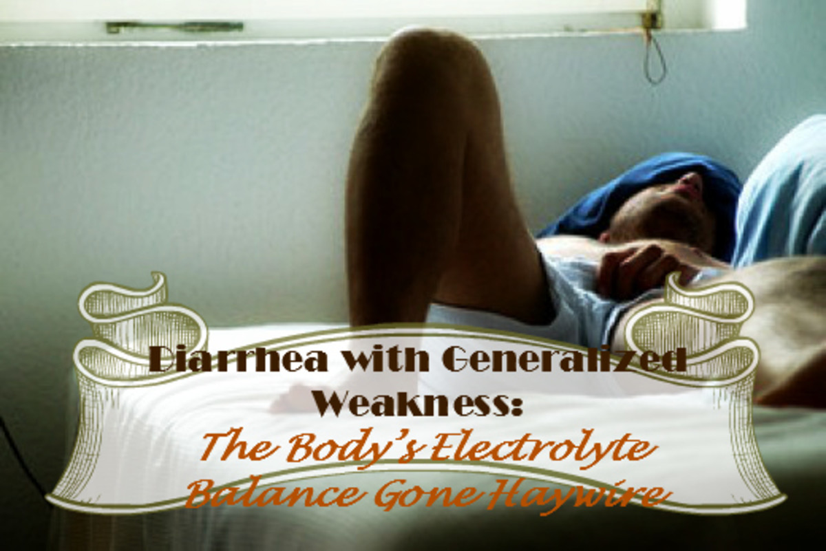 Diarrhea With Generalized Weakness: The Body's Electrolyte Balance Gone Haywire