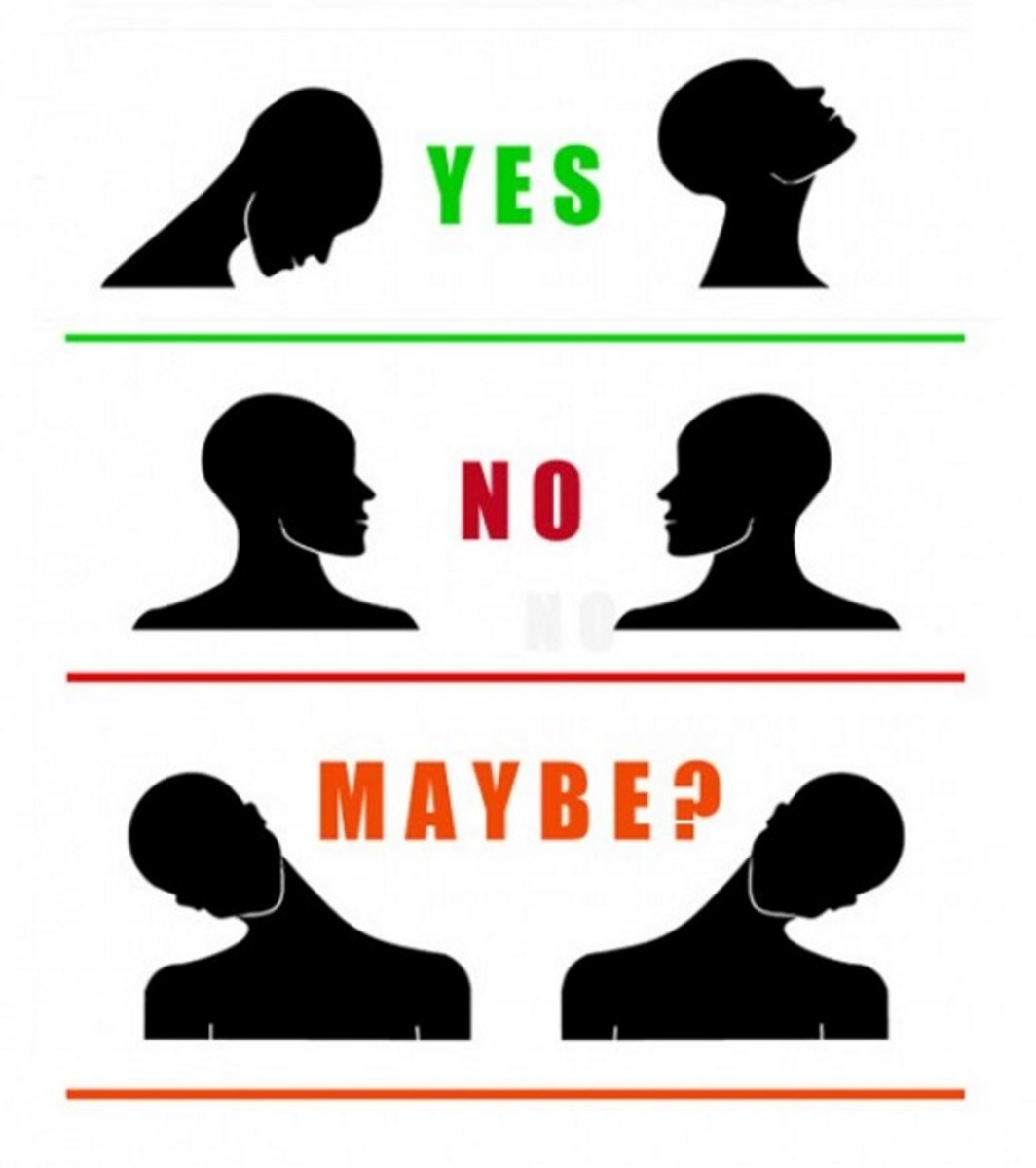 """Yes "", ""No"", and ""Maybe"""