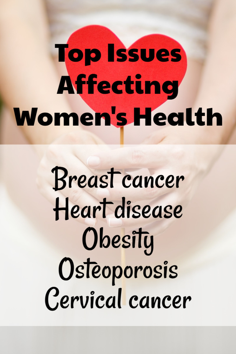 Top Issues Affecting Women's Health