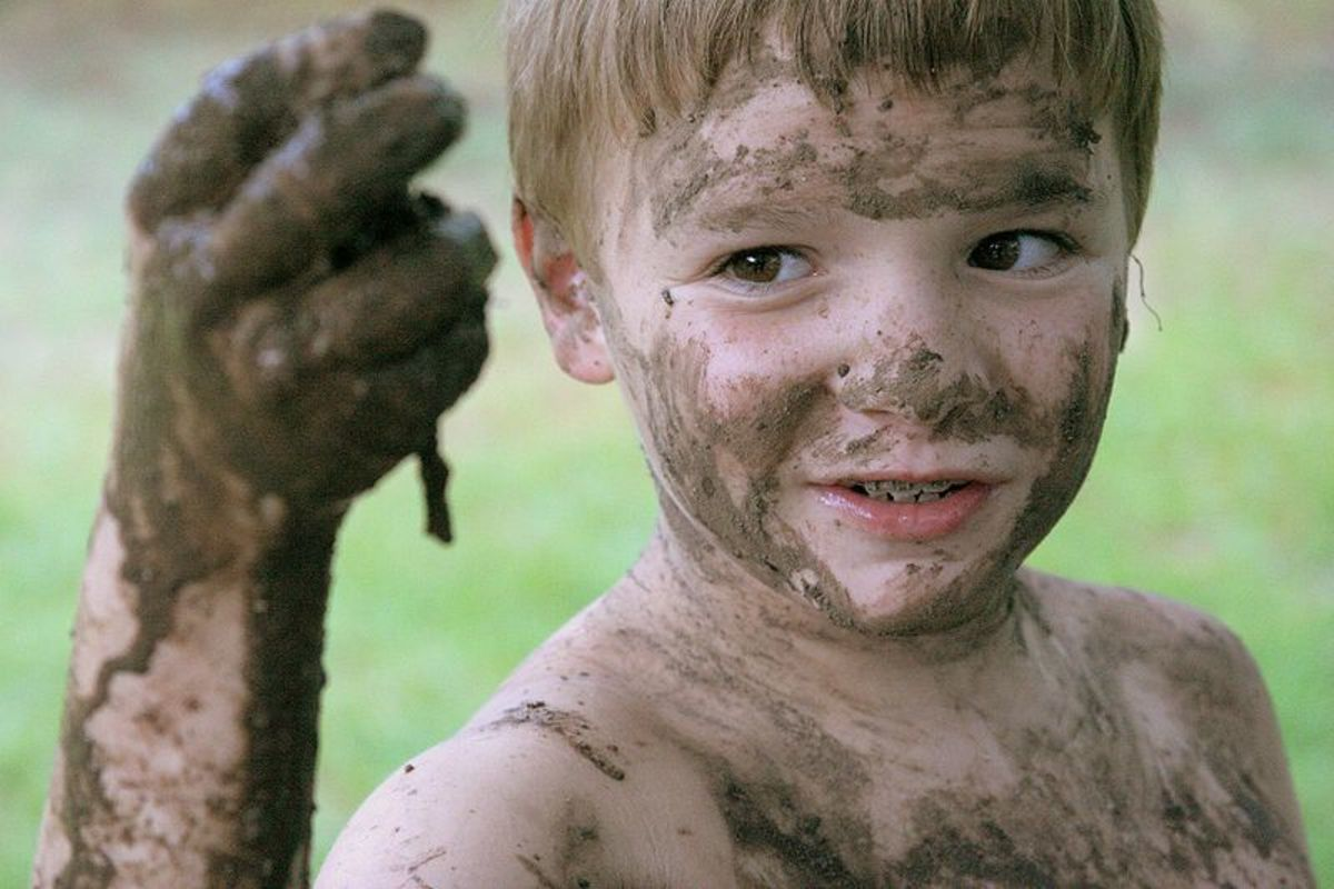 Dirt Is Good for Children