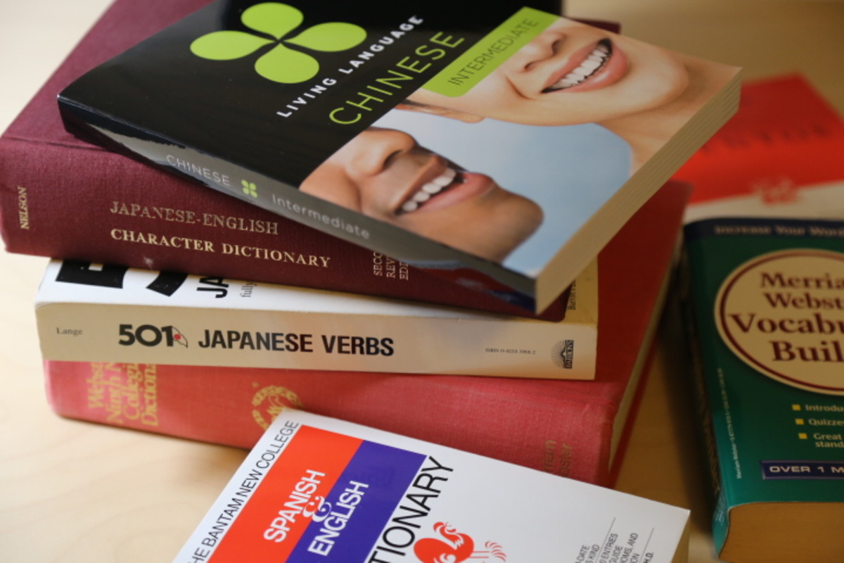 Studying another language to keep the mind sharp