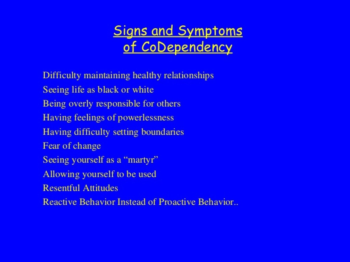 codependency and boundary issues in a relationship