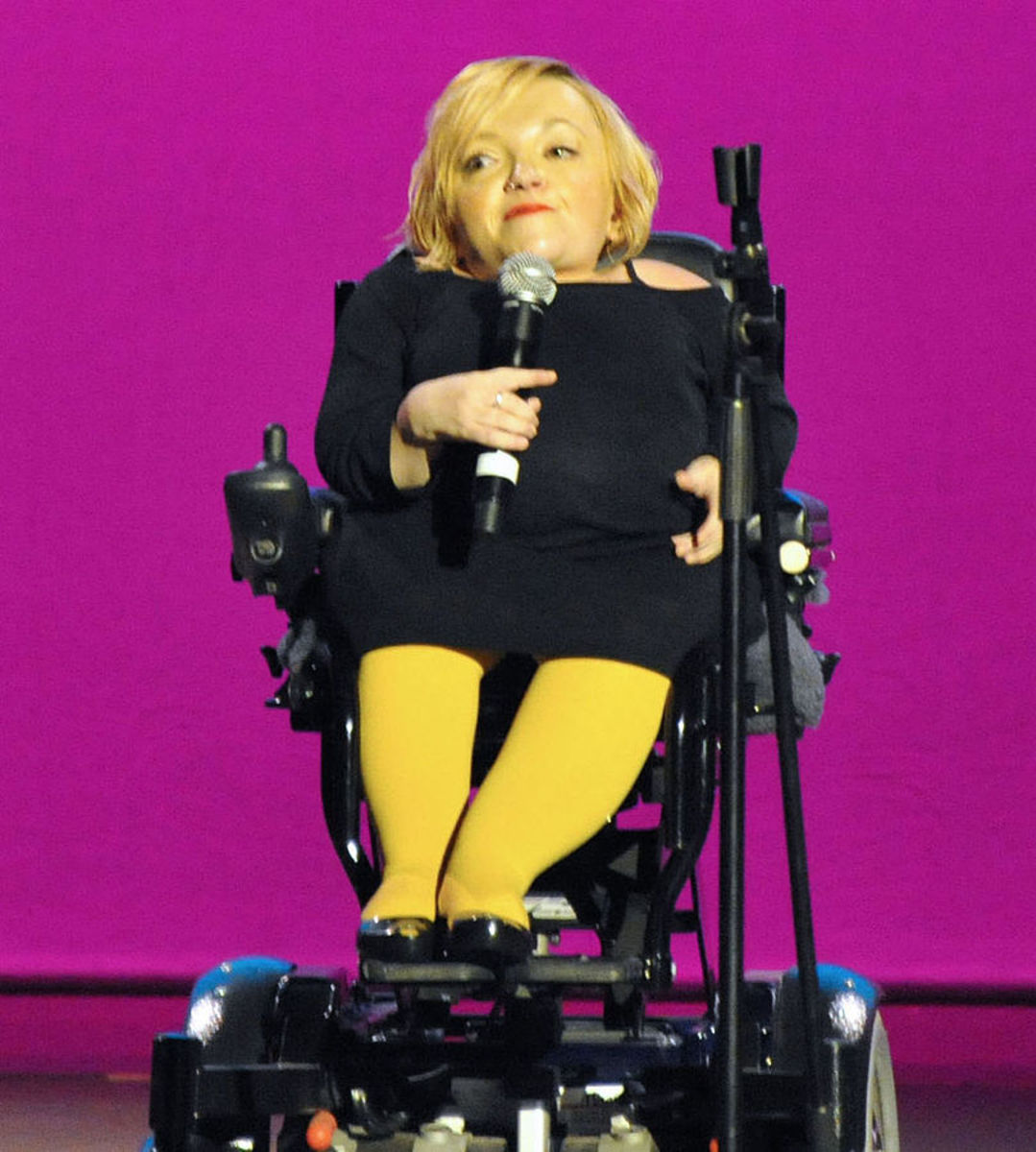 Disability advocate Stella Young