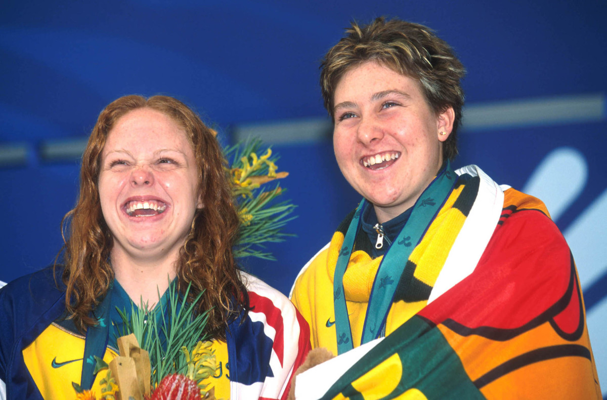 Australian Paralympians Siobhan Paton and Alicia Aberley