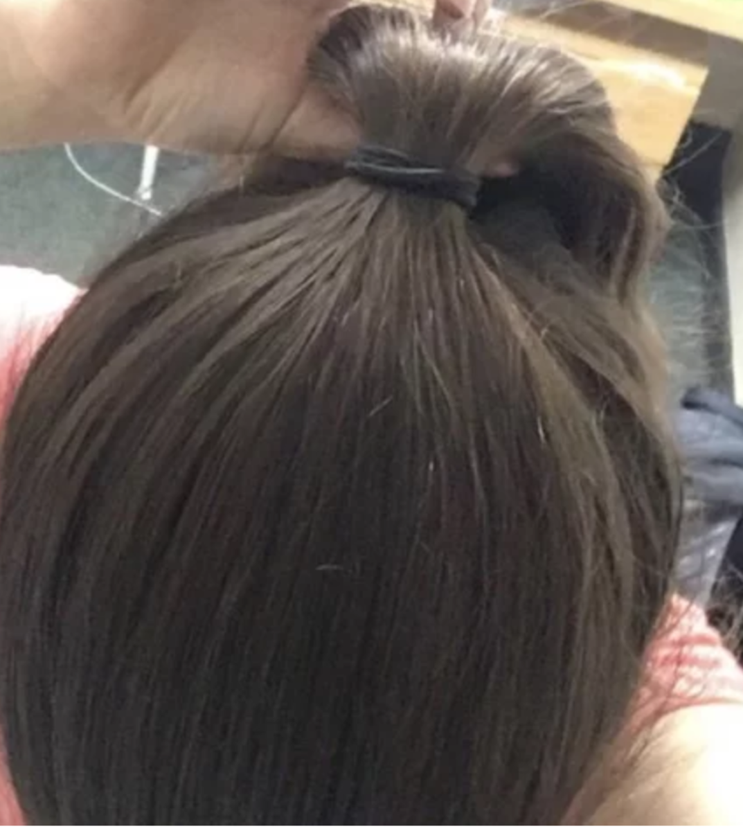 My hair now, 4 years after stopping Accutane. Nearly 100% of its density has recovered, and I am so delighted and blessed.