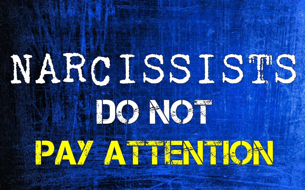 Why Narcissists Don't Pay Attention
