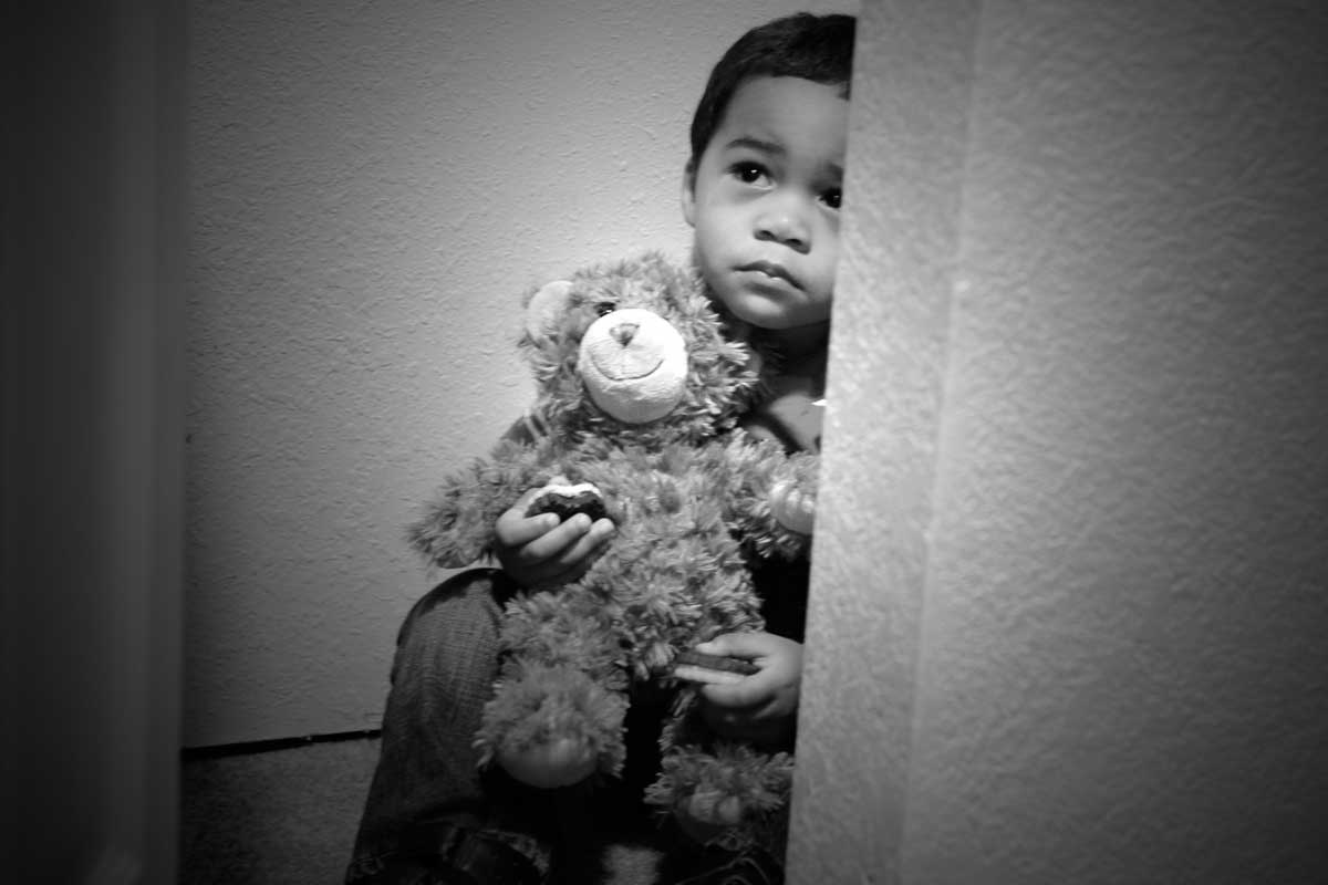 Emotional neglect prevents a child from forming a self-identity.